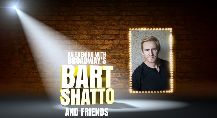 Back to Broadway: An Evening with Broadway's Bart Shatto and Friends, June 15