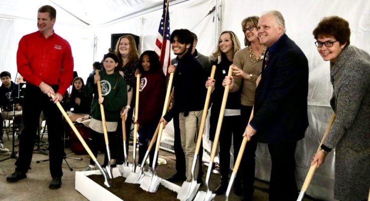Collegium Charter School Holds Groundbreaking Ceremony For New Performing Arts Center
