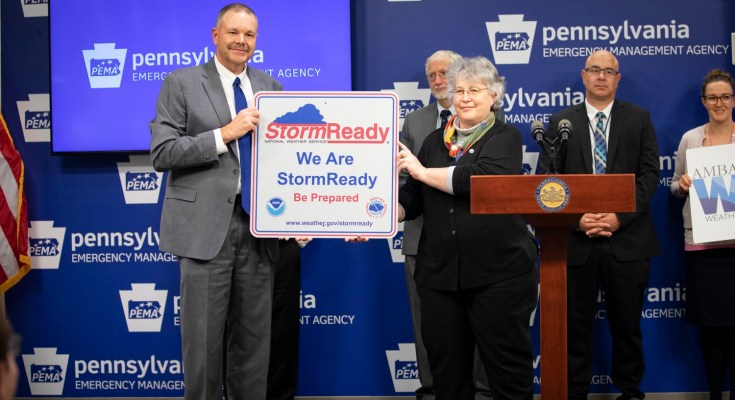 National Weather Service Recognizes Pennsylvania After All 67 Counties Achieve StormReady® Status