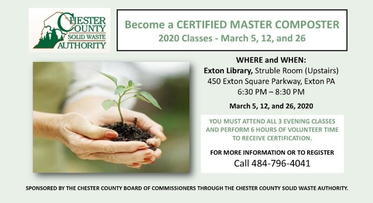 2020 Master Composter Classes at Exton Library