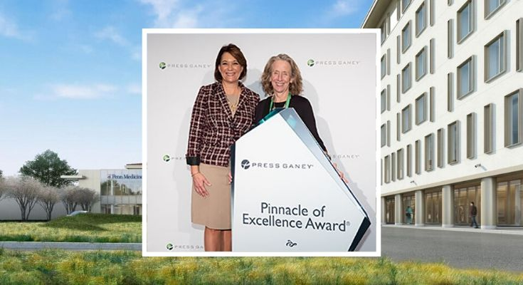 Chester County Hospital Receives 2019 Gancey Pinnacle of Excellence Award®