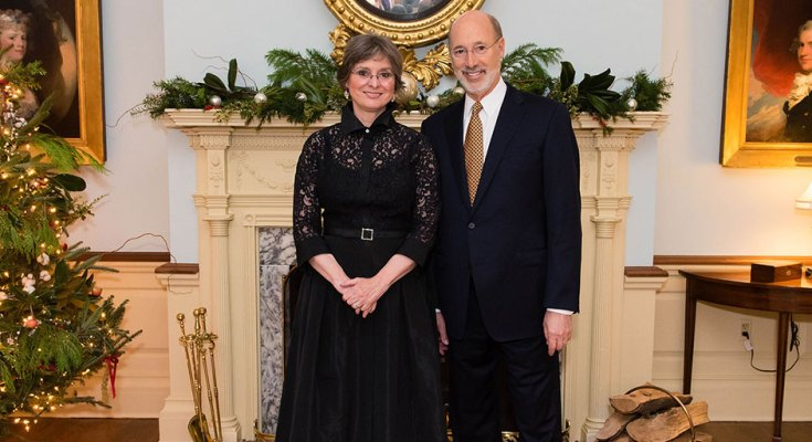 Governor Tom Wolf and First Lady Frances Wolf Invite Pennsylvanians to Visit the Governor's Residence this Holiday Season