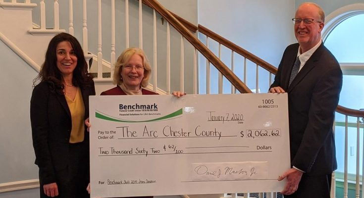 Employees of Benchmark Federal Credit Union Donate More Than $2,000 to Benefit People with Disabilities