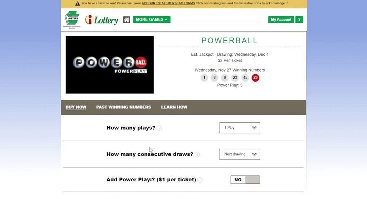 Pennsylvania Lottery Announces Powerball® and Mega Millions® Tickets Now Available for Purchase Online