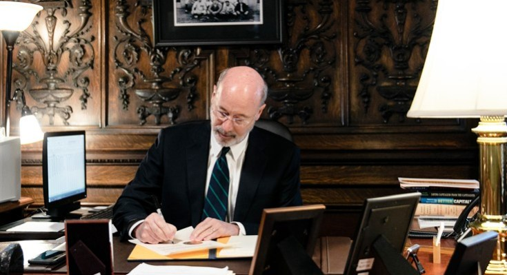 Gov. Wolf Signs COVID-19 Response Bills to Bolster Health Care System, Workers, and Education and Reschedule the Primary Election