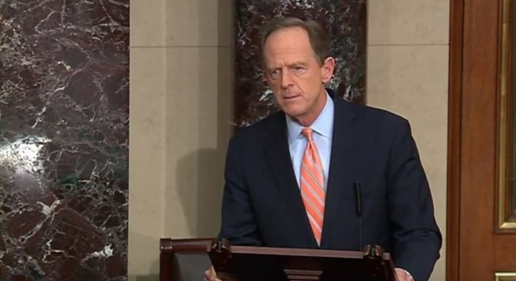 Toomey Takes to Senate Floor to Express Disappointment with Senate Dems Following Partisan Block of COVID-19 Response Bill
