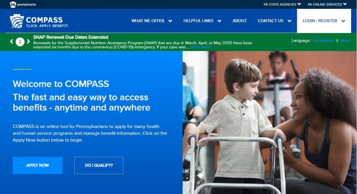 Department of Human Services Reminds Pennsylvanians Online Services are Available