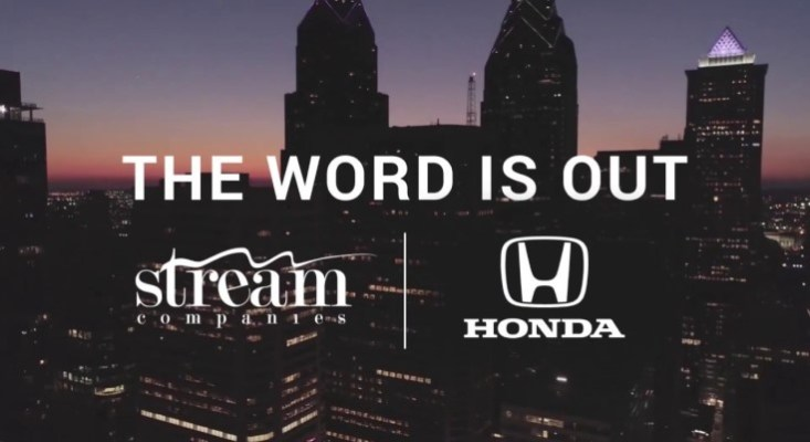 Malvern-based Stream Companies Announces New Partnership with America Honda Motor Co.