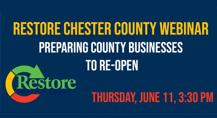 """Restore Chester County"" Building Consumer Confidence Webinar"