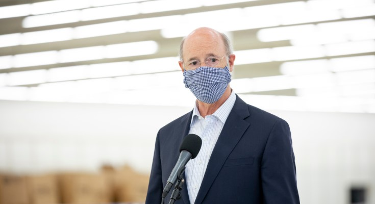 Gov. Wolf: Pennsylvania Businesses Endorse Mask-Wearing to Protect Employees, Customers, Communities