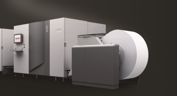 Ricoh Enhances Its Award-winning Inkjet Portfolio with New Monochrome-only Platform Boasting 50% Higher Speeds