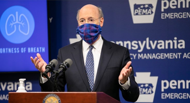 Legislators Join Gov. Wolf in Call for Masking
