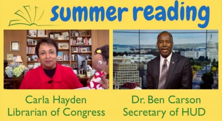 Secretary Ben Carson Releases New Summer Reading Video with Special Guest
