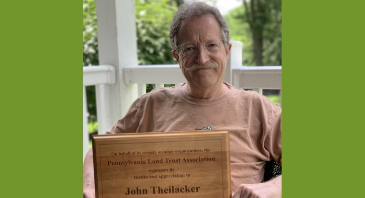 Longtime Staff Member of Brandywine Conservancy Receives Recognition from Pennsylvania Land Trust Association