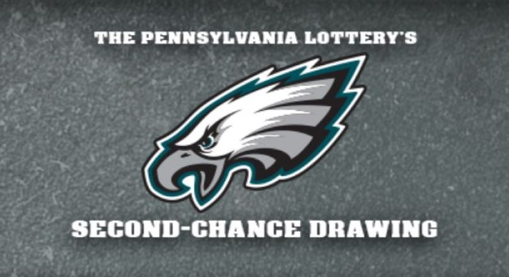 Eagles Second-Chance Drawing from the Pennsylvania Lottery Offers Chance to Win Tickets to a Game, Money to Play Online
