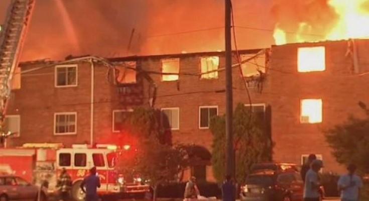 Ashwood Apartment fire