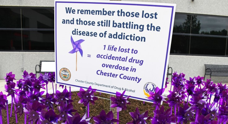 "Chester County to Participate in ""International Overdose Awareness Day"""