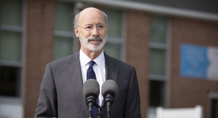 Gov. Wolf: Pass Legislation to Enhance Secure and Efficient Elections