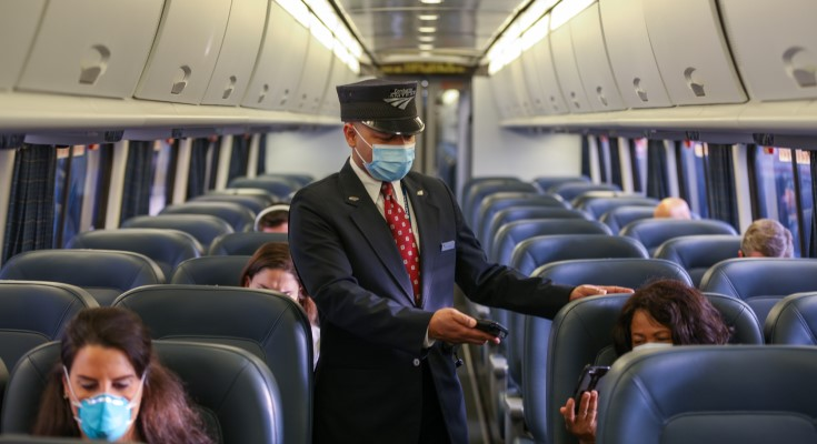 Amtrak Provides Real-Time Look At Seat Availability