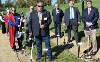 VA Breaks Ground on American Indian Veterans Memorial at Riverside National Cemetery