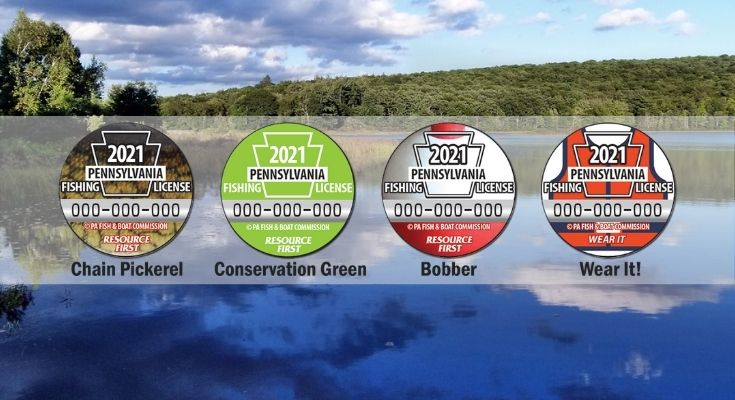 Vote Now for the 2021 Pennsylvania Collectible Fishing License Button Design