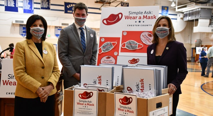 "Chester County Launches ""Simple Ask: Wear a Mask"" Campaign"