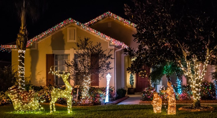 Tredyffrin Parks Foundation Sponsors Festive Lights Contest 2020
