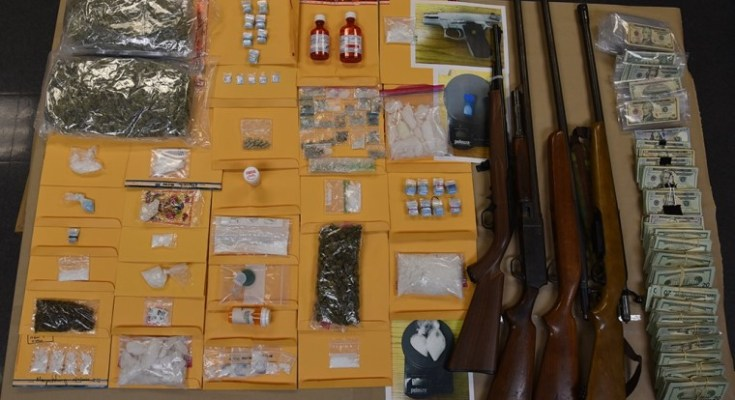 Philly-to-Chesco Drug Bust Nets Over $200k in Drugs, Guns and Cash