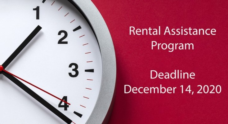 Deadline Nearing for Rental Assistance Funds