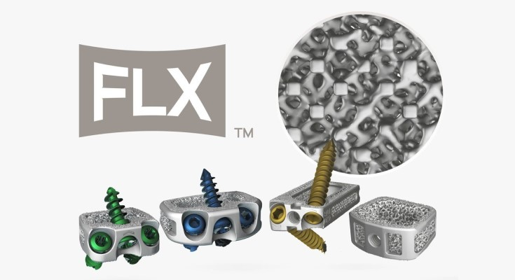 Centinel Spine's Unique 3D-Printed Porous-Titanium FLX™ Platform Experiences Rapid Market Acceptance through Over 3,500 Implantations