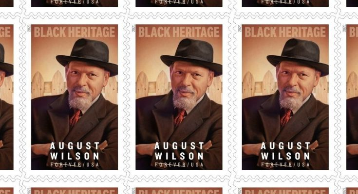 Forever stamp, August Wilson