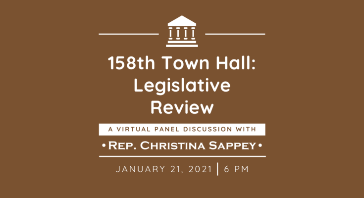 Sappey to Host Virtual Town Hall