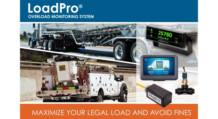 LoadPro on-vehicle overload monitoring