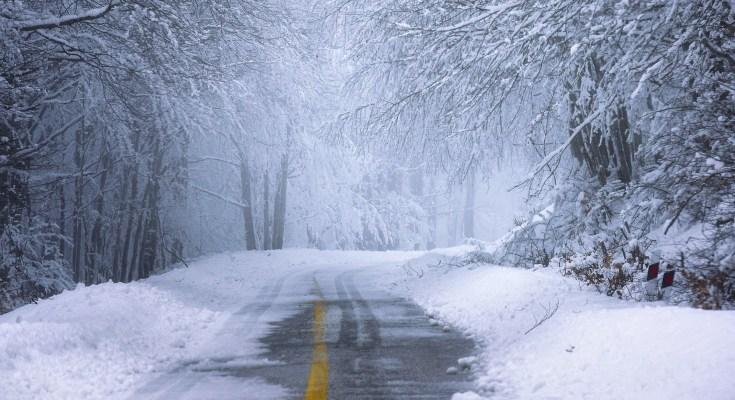 snow raod