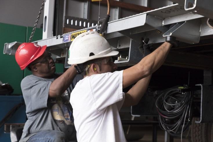 Manufacturing assemblers at Morgan Truck Body