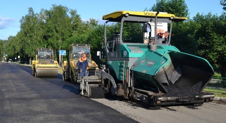 Road Repair, Paving