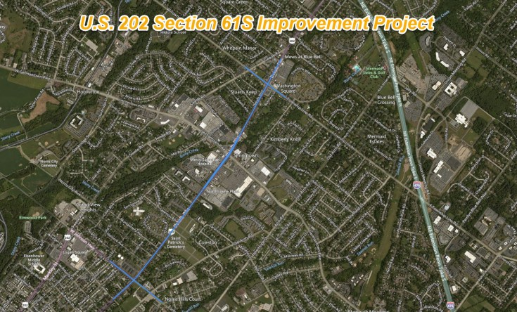 202 Section 61S Improvement Project