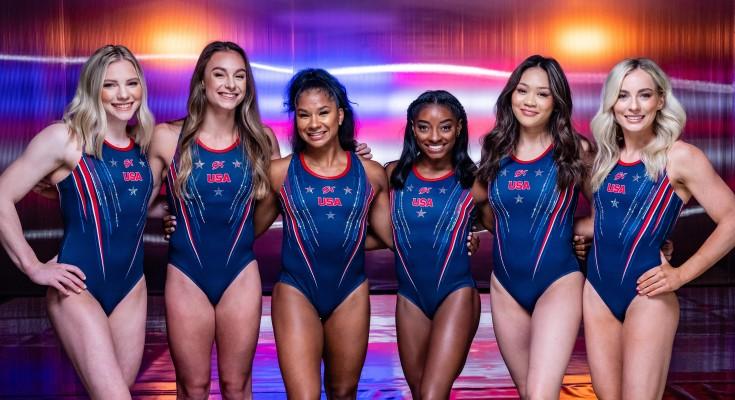 2021 Team USA gymnasts