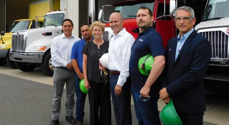 Rep. Chrissy Houlahan visited Morgan Truck Body