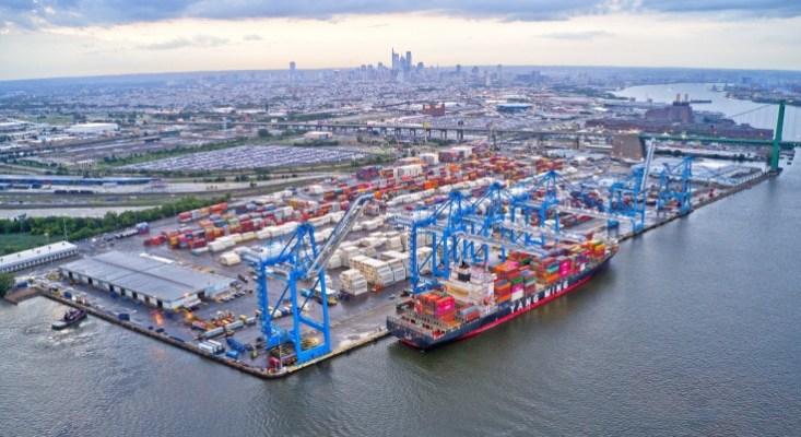 Cargo Ships Port of Philadelphia