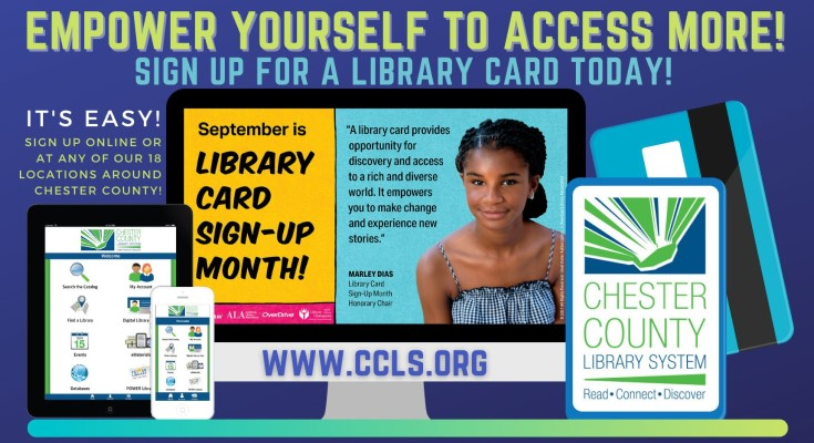 National Library Card Sign Up Month