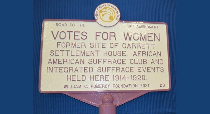 Women's Suffrage Historic Marker