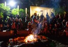 Storytelling campfire at Pennypack Envrionmental Center