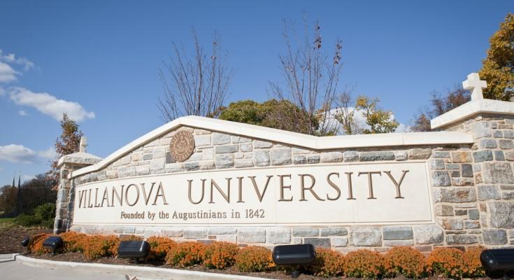 Villanova University Sign