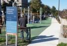 playground and dog park