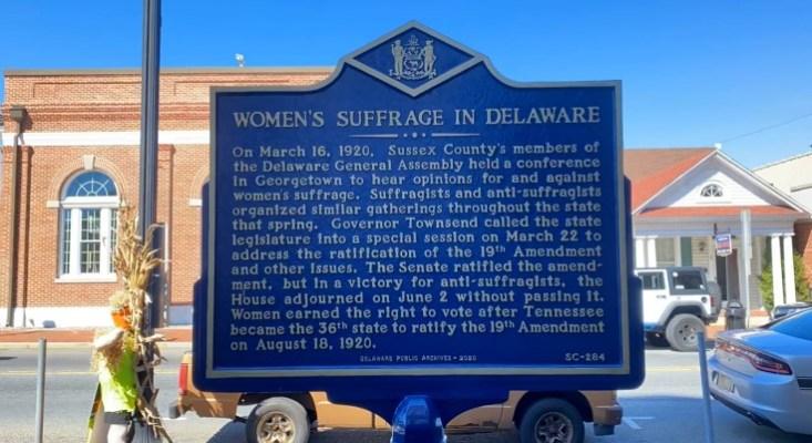Women's Suffrage Historical Marker