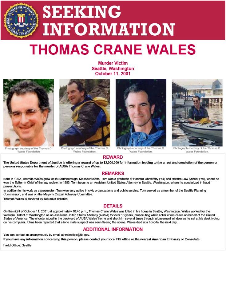 Thomas C. Wales Poster