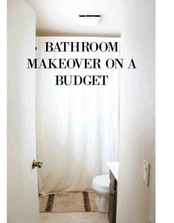 Diy Bathroom Makeover My Chic Obsession
