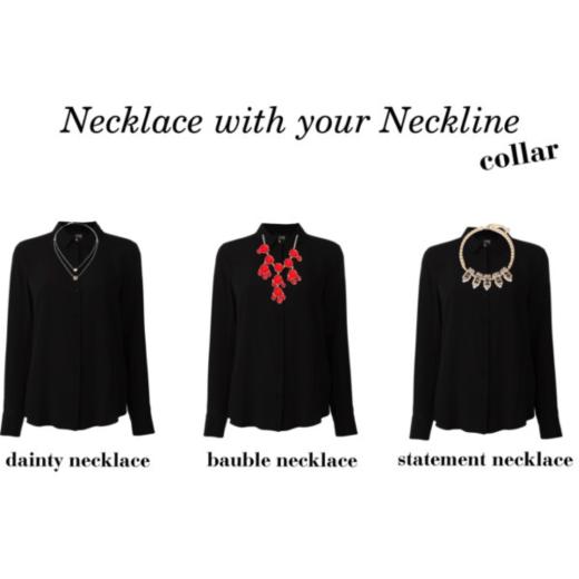collar neckline