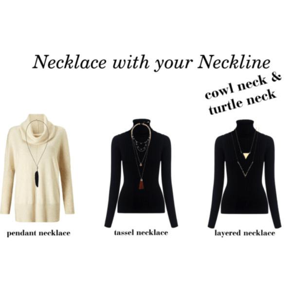 turtle neck neckline